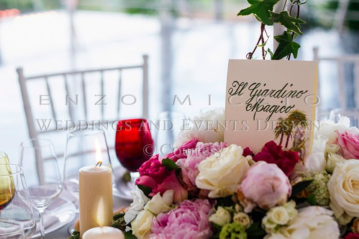 Wedding in Acireale #wedding #sicily #weddingplanner #flowers #flowerdesign #roses #candle