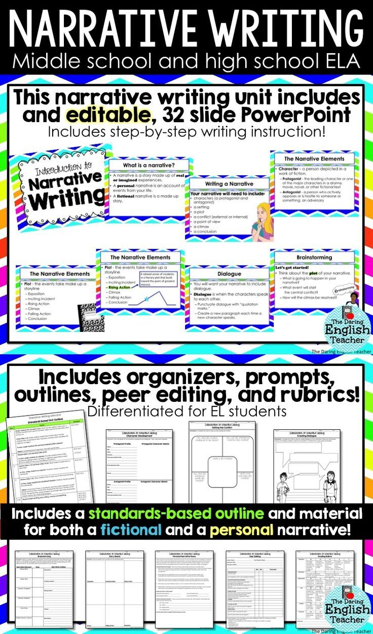 narrative essays for middle school students Below are several sources of expository writing samples for middle school students  narrative writing examples for middle school writing samples by steve peha (pdf).