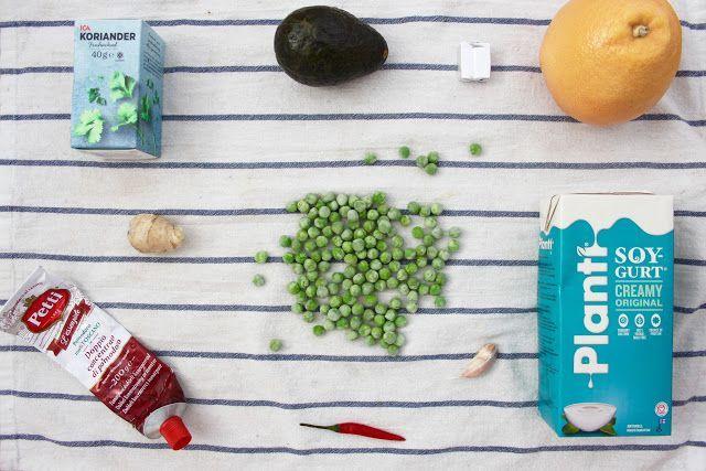 recept: kall avokadosoppa med ingefära & grapezest