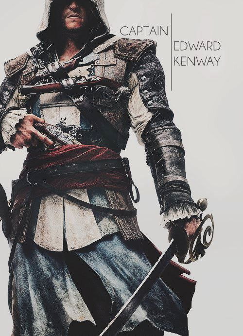 Assassin's Creed 4: Black Flag - Edward Kenway