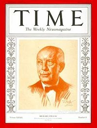 Richard Strauss was on the cover of TIME in 1927 and (here) 1938.