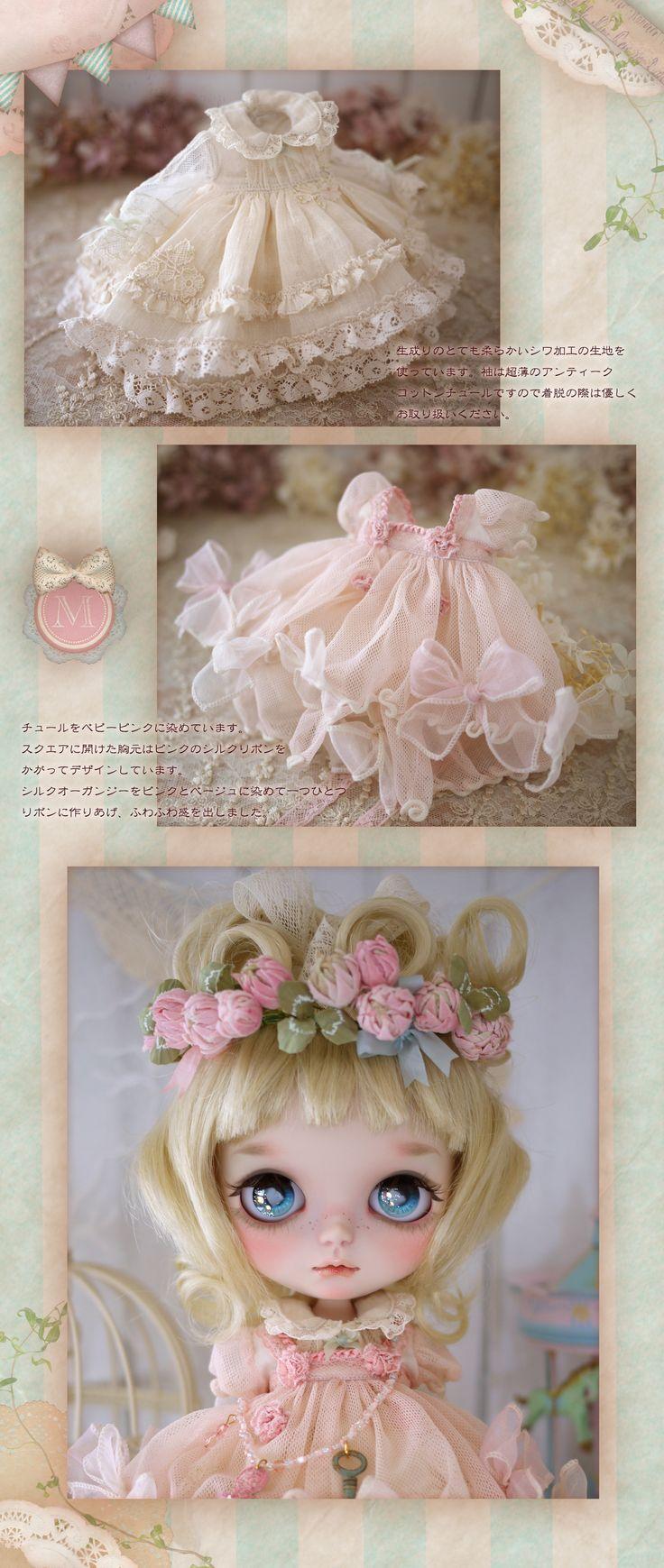 ** Milk Tea ** custom Blythe * haru white clover * Admin - Auction - Rinkya! Japan Auction & Shopping