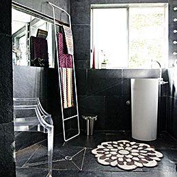 Best Vesta Rug Images On Pinterest Bathing Floor Rugs - Missoni black and white bath mat for bathroom decorating ideas