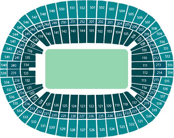 View from your seat | Wembley Stadium