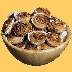 Cinnamon rolls o rollos de canela. Receta fácil para niños