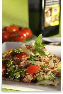 www.gaea.gr Greek Salad Couscous!