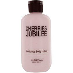 Hempz Treats Delicious Body Lotion, Cherries Jubilee, 8.5 Ounce smells DELISIOUS!!