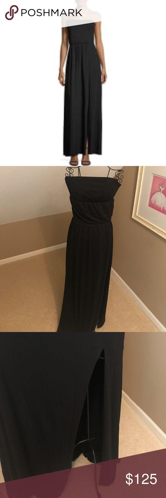 Rachel Pally Luletta Maxi Dress Brand New Rachel Pally Black Dress! 92% Modal 8% Spandex Rachel Pally Dresses Maxi