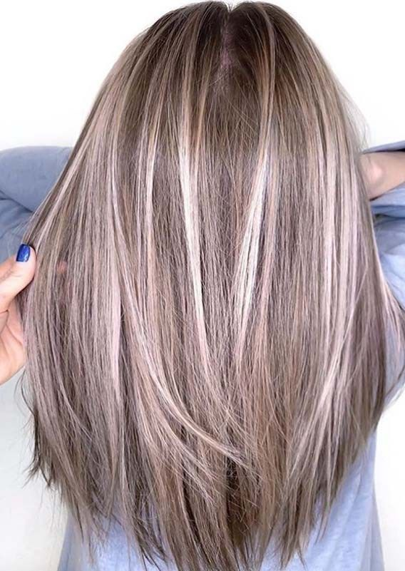 Wonderful Hair Color Ideas For Long Straight Hair In 2019 Voguetypes Long Straight Hair Straight Hairstyles Long Hair Styles