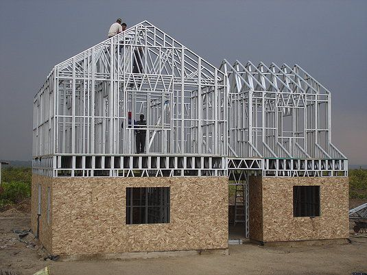 We have a huge collection of Light ‪#‎Steel‬ frame ‪#‎Houses‬, which are designs according to new technologies.