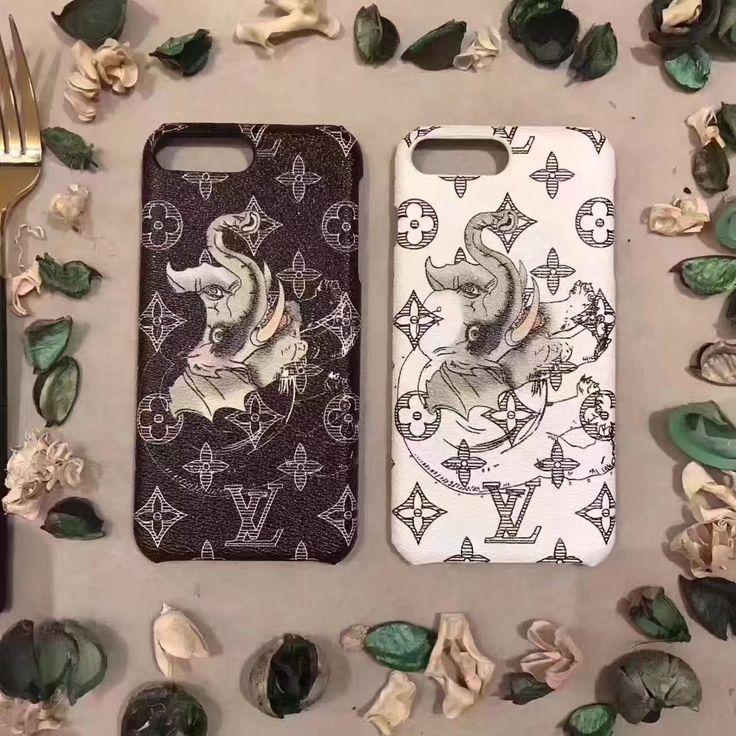 新型 アイフォン 7s/8綺麗個性的LV動物象キリン犀シマウマ ゼブラiPhone6/6Plusケースブランド ルイヴィトンiPhone7/7Plus携帯カバー豪華風