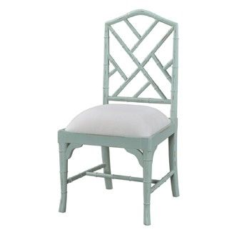 Custom Chinese Chippendale Dining Chair Faux Bamboo chair - pick your own custom finish