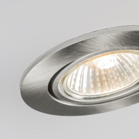 Foco empotrado CISCO aluminio Downlight de fácil instalación en un color muy elegante. Permite una amplia gama de de tipos de iluminación ya que usa casquillo de GU10 . Además al ser un modelo orientable permite enfocar donde usted más lo necesita.