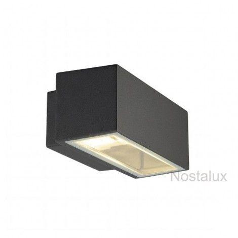 Wayne antraciet Up-Down (1020232485W) - Nostalux Selectie - Wand verlichting modern