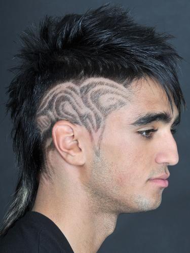 Hair tattoo για άνδρες που τολμούν!!!