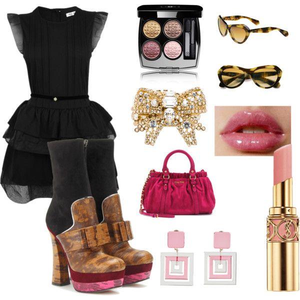 """Pink"" by cristina-merli on Polyvore"