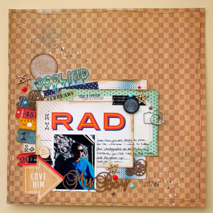 RAD - Crate Paper - Boys Rule Collection