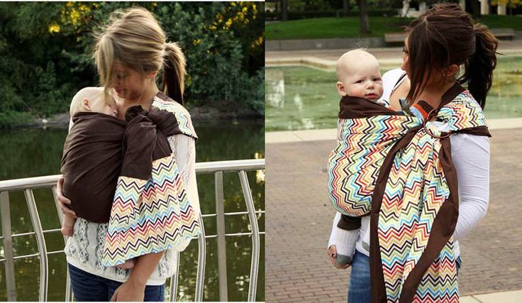 A Tale of Two Fabrics (With images) Baby wearing, Ring