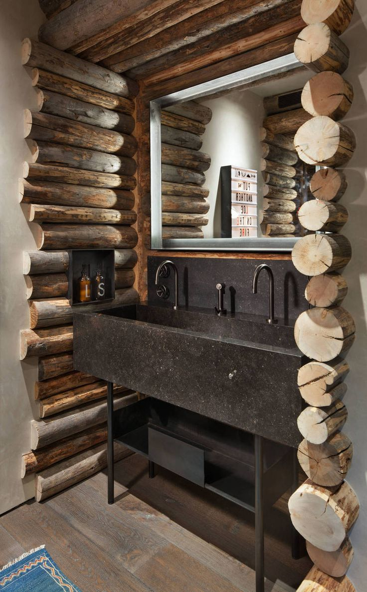 Modern Rustic Bathrooms and Decor Ideas – Rustic Bathrooms