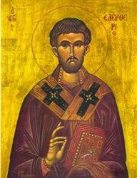 St. Eleftherios Greek Orthodox Icon