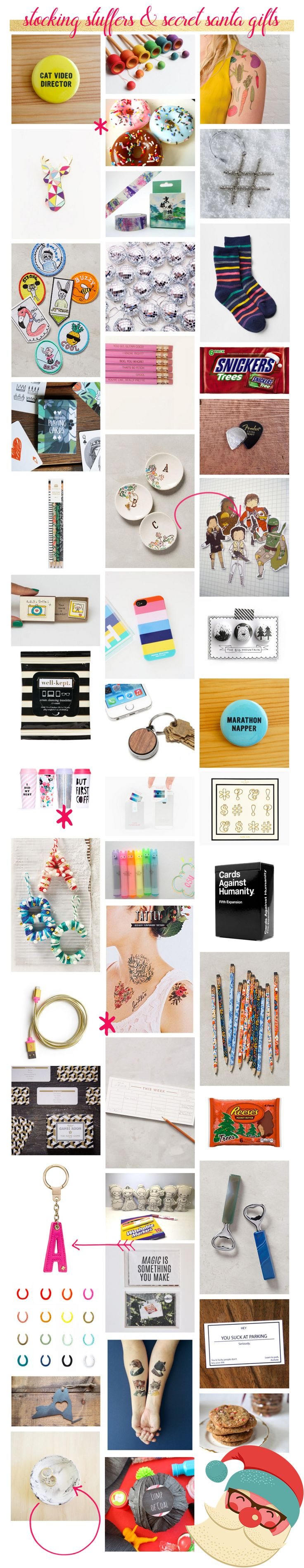 Cool Stocking Stuffers 192 best images about gift guide: stocking stuffers + secret