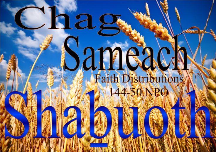 Chag Sameach Shabuoth mishpacha in YAHWEH! HalleluYAH
