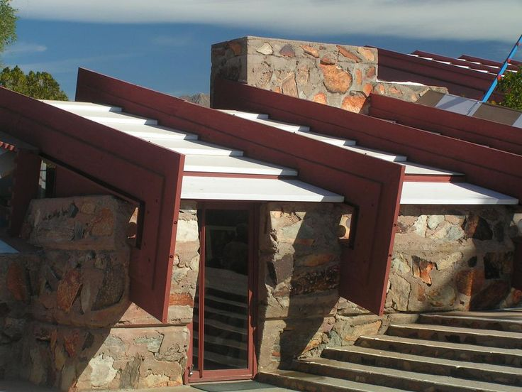 Taliesin West. Scottsdale, Arizona. 1937. Frank Lloyd Wright's winter home by ijnicholas