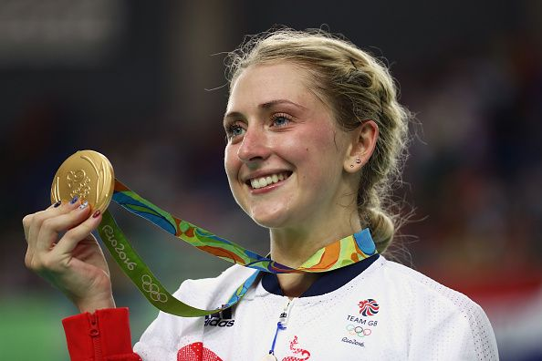 Laura Trott wins her 4th Olympic Gold medal at Rio 2016