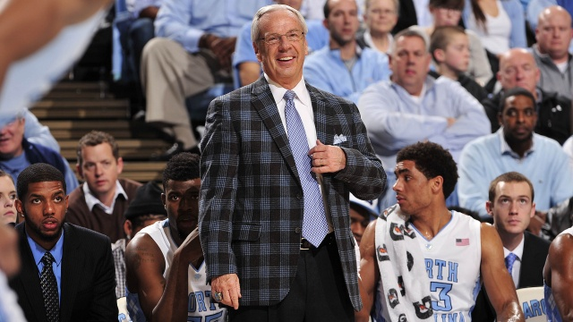 UNC Men's Basketball v Tech North carolina tar
