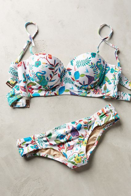 Mix-and-Match Ruched Bottoms - anthropologie.com