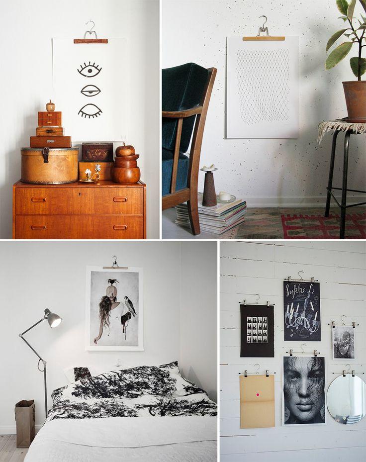 6 mani res originales d 39 accrocher ses affiches elephant. Black Bedroom Furniture Sets. Home Design Ideas
