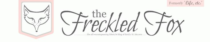 """""""The Freckled Fox"""" I love this blog! It has absolutely everything. Fashion, beauty, photography, reviews, recipes, DIY, sewing, etc."""