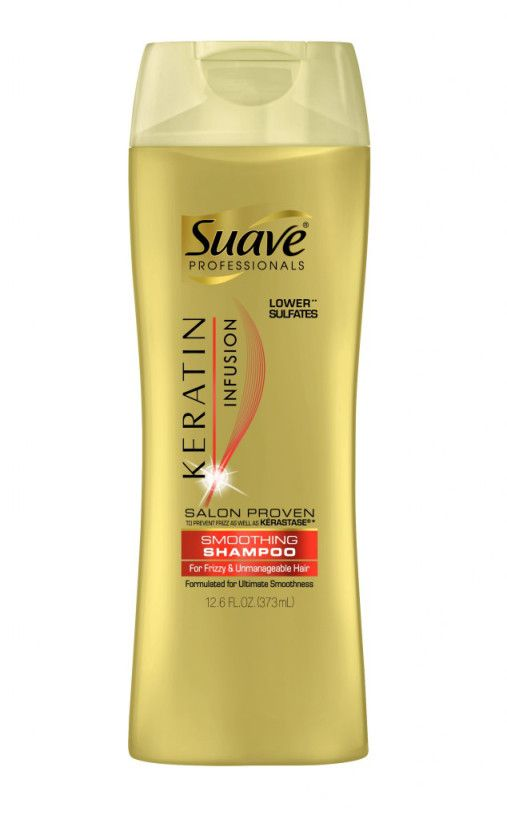 The Best Shampoo for Oily Hair (and It's under $3) - Suave Keratin Infusion Smoothing Shampoo