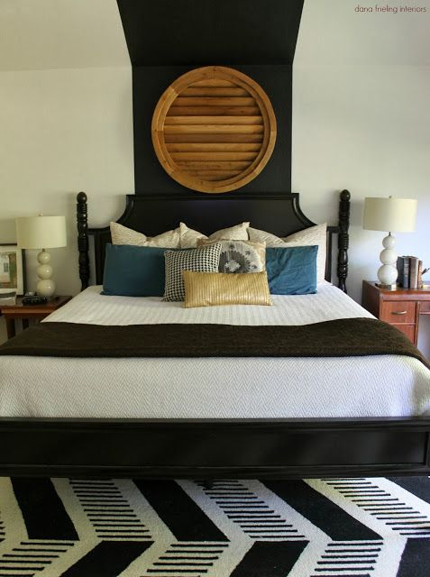 Upstairs Bedroom, Master Bedrooms, Cool Headboards, Wall Ideas, Primitive,  Bedroom Ideas, 3/4 Beds, Home Tours, Eclectic Modern