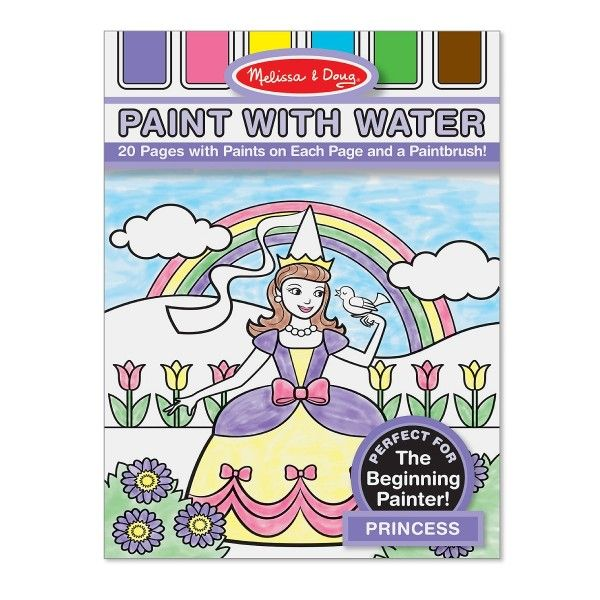 Paint with Water - Princess - Dragonello  #Dragonello