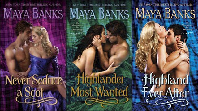 Maya Banks - Montgomerys and Armstrongs series...didn't realize I had a highlander fetish until maya banks ;)