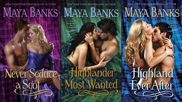 Maya Banks - Montgomerys and Armstrongs series...didn't realize I had a highlander fetish until maya banks ;)