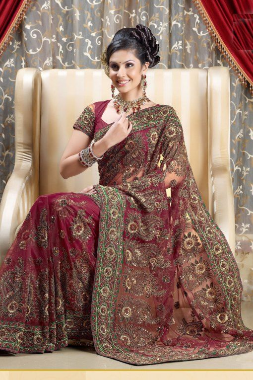 Indian Bridal Collection | ... indian bridal fancy saree indian bridal saree collection 2012