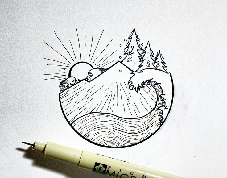 pintaylor beay on atelier  vignettes  mountain