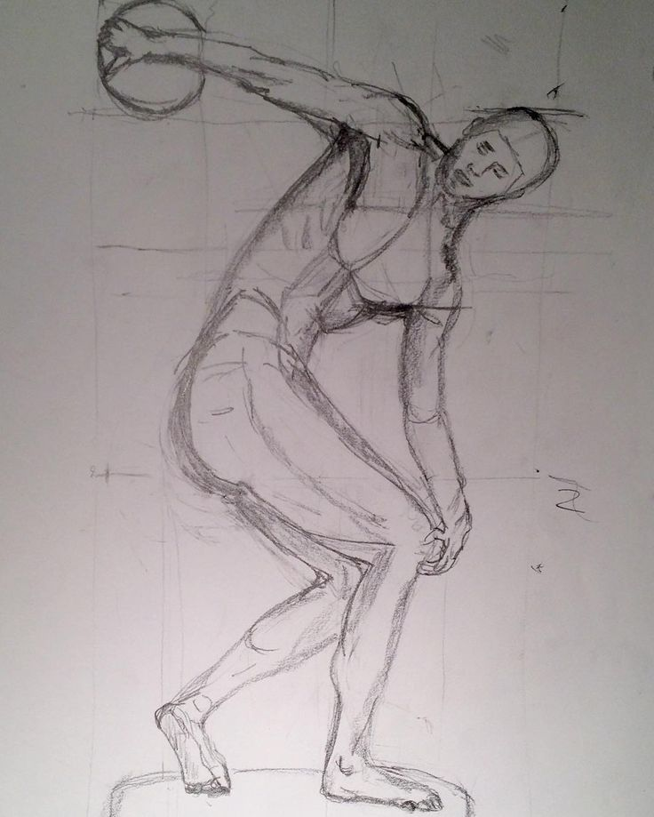Old drawing - just another old quick sketch. This is an sketch of an antique greek sculpture the movement just before the throw of the Discus. Www.anne-mette.com  #copyrightedpictures #art #www.anne-mette.com #artistoninstagram #kunst #art #kunstner #greeksculpture #drawing #www-anne-mette.com #pinterest #pin #tegning #diskus #movement #sketch #exhibition #kunst@anne-mette.com