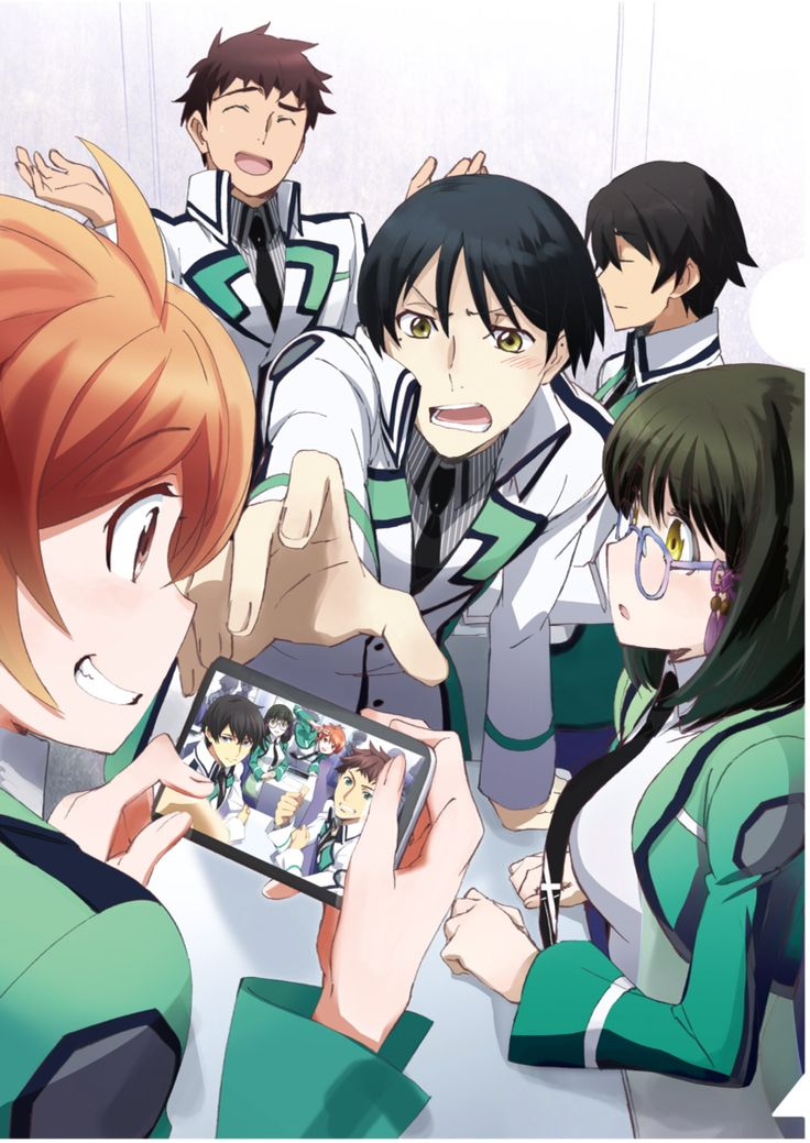 Lol this is like totally awesome! Irregular at Magic High School