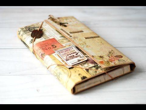 El Scraparate de Alagaina: Transformar una caja en un Travel Book