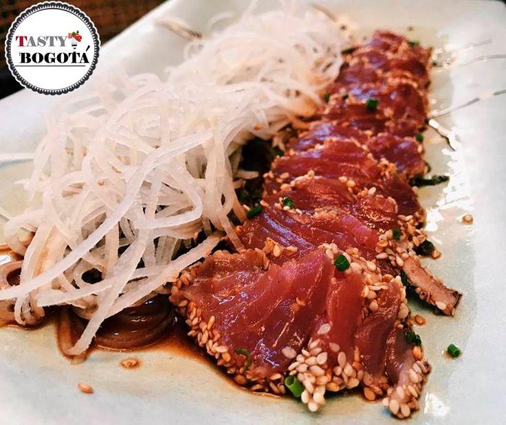 Tataki de atún  Watakushi