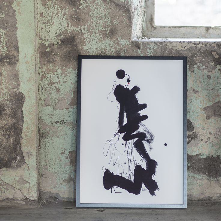 Hemtex + Lovisa Burfitt Poster La Parisienne från kollektionen Paris, please - en kollektion som pryds av Lovisas karaktäristiska bilder från våra drömmars stad. Ute i butik 24/3-2016.