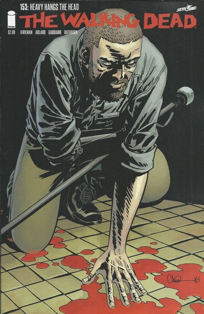 The Walking Dead comic issue 153