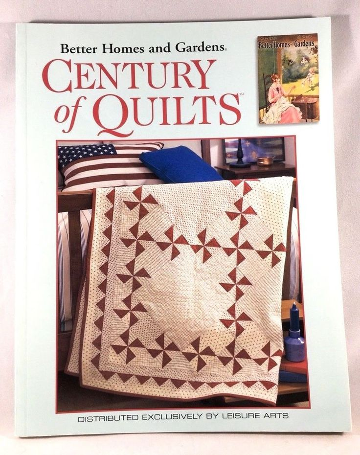 195 best quilting images on pinterest easy quilts patchwork better homes and gardens century of quilts leisure arts softcover 2004 fandeluxe Choice Image