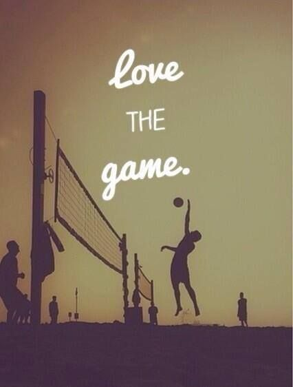 Love the Game #volleyball