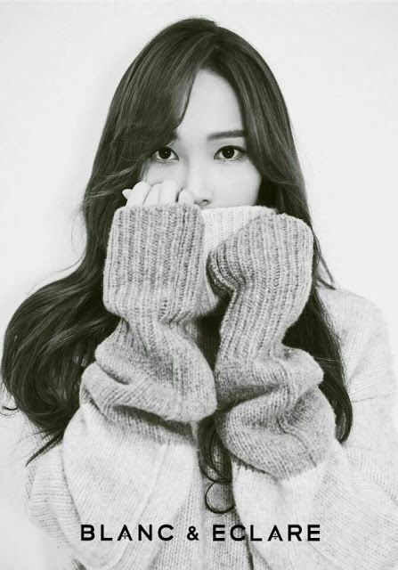 Jessica Jung and more of her pictures for 'BLANC & ECLARE'
