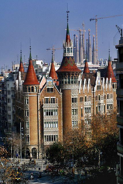 Art Nouveau Mix | Casa de les Punxes (Puig i Cadafalch), Barcelona