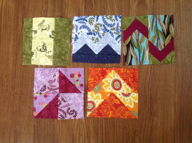 Almost forgot how to do the triangle piecing.
